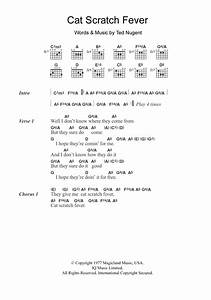 Cat Scratch Fever Sheet Music