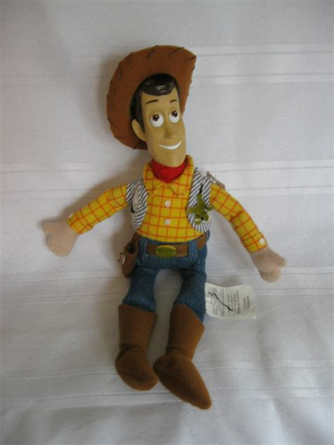 disney store woody 10 5 quot doll story figure plush character part ebay