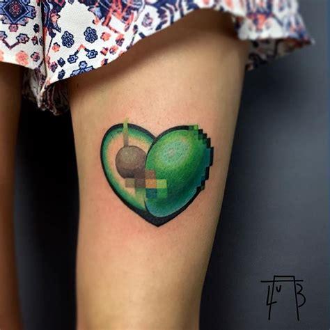 censored avocado tattoo tattoogridnet