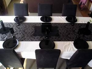 Chemin De Table Design : customiser style baroque chez lilypouce ~ Teatrodelosmanantiales.com Idées de Décoration