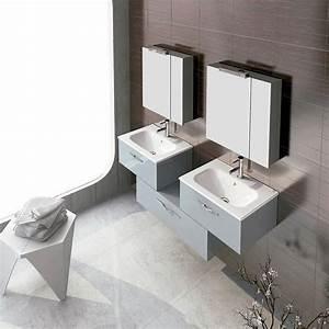 Meuble Salle De Bain 150 Cm : meuble salle de bain 150 cm 3 tiroirs play ~ Dailycaller-alerts.com Idées de Décoration