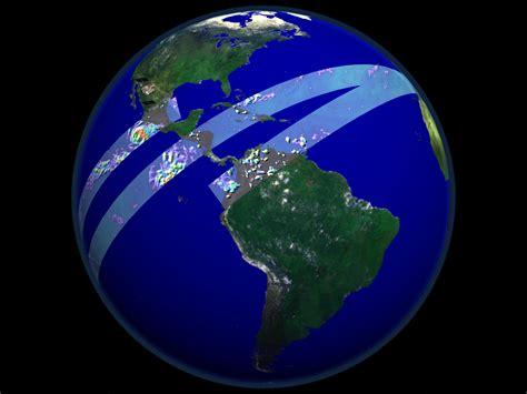 SVS: TRMM Data Swath