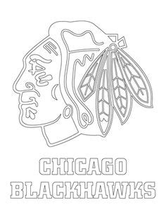 chicago blackhawks logo coloring page autumn chicago