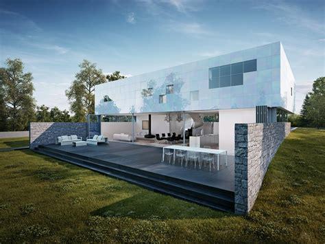 5 визуализаций частных домов от Michal Nowak