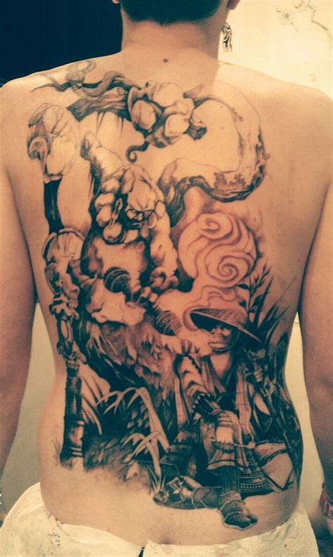 #sanhugi #tatouage #samourai #paris  Tatouage Pinterest