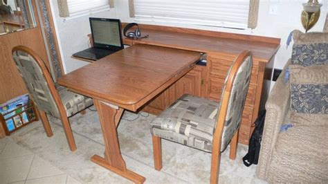 rv dining table replacement rv net open roads forum replacing 39 booth 39 dining area