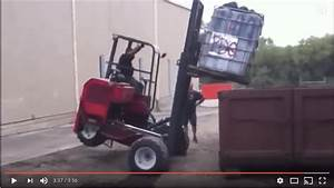 Insanely Funny Forklift Fail Compilation