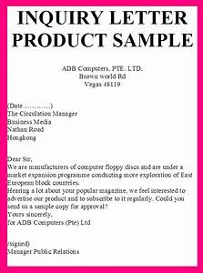 INQUIRY LETTER PRODUCT SAMPLE SAMPLE REPLY LETTER PRODUCT INQUIRY business letter examples