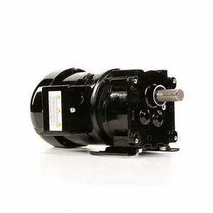 Ac Parallel Shaft Three Phase Gear Motor 155 Rpm  1  4 Hp