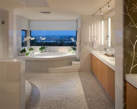stunning contemporary bathroom design ideas  inspire   renovation gravetics