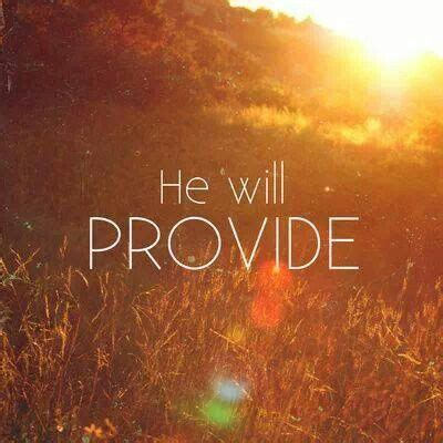 The bible is a manual; Trust Him!   God will provide, Bible quotes, Christian quotes