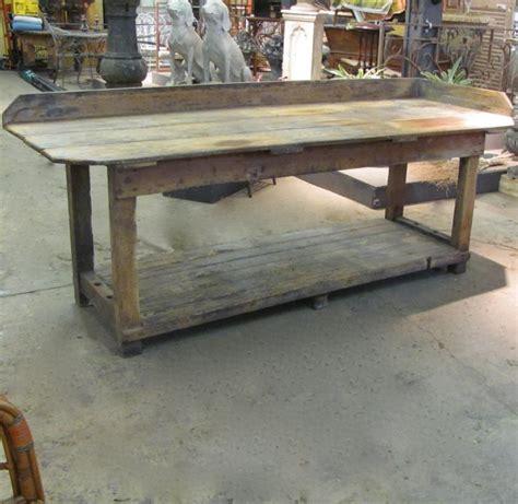 finnegan gallery work table from an bakery