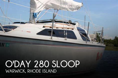 Outboard Motors For Sale Rhode Island by For Sale Used 1989 O Day 280 Sloop In Warwick Rhode