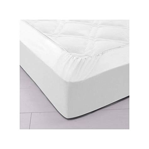 Protege Matelas 90x200 by White Label Protege Matelas 90x200 Molleton Impermeable 224
