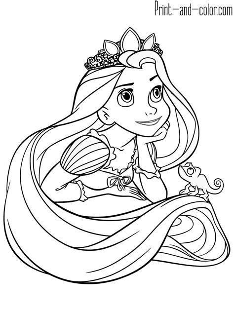 disney color pages disney coloring pages rapunzel