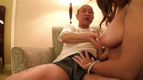 Busty Japanese Teen Gives An Old Man A Titjob Hd From
