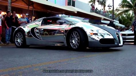 Bugatti Veyron From Flo Rida's Music Video Driving On