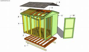 Garden Shed Plans Free Free Garden Plans - How to build
