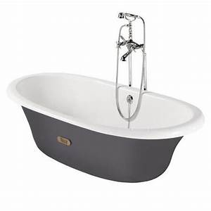 Baignoire Ovale Newcast 170x85 Fonte Maille Intrieur