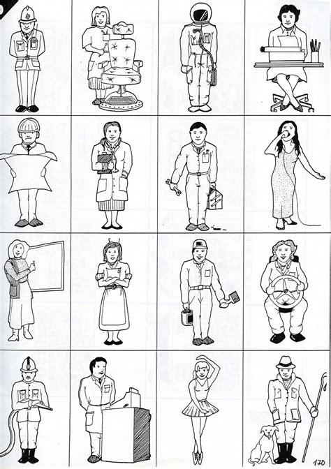profesiones para colorear en ingles imagui ideas for the house fichas ingles las