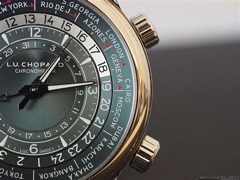 Chopard L.u.c Time Traveler One Platinum. Hands