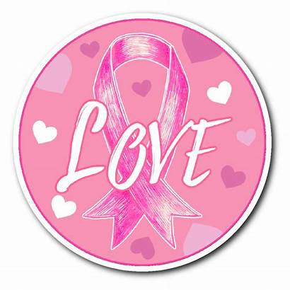Pink Sticker Ribbons Cancer Breast Stickers Decals