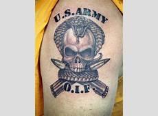 31+ Army Skull Tattoo Ideas