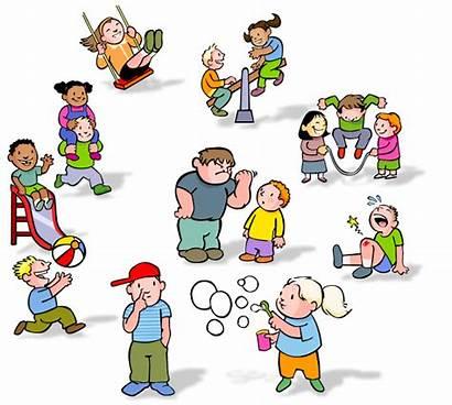Recess Clipart Children Behaviors Playing Behavior Child