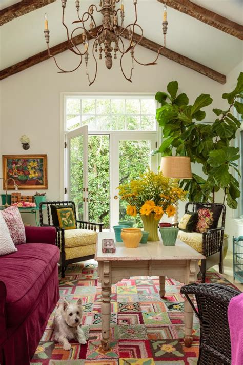 Colorful Rooms Design by Take A Peek Inside This Colorful California Cottage Hgtv