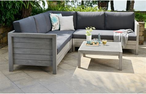 Outdoor Patio Sofa Set by Garden Sofa Set Wooden Home Furniture Out Out Original