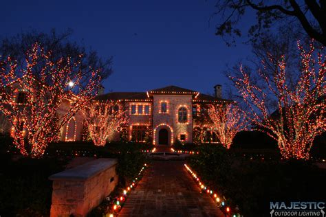 southlake tree lighting 2017 holiday lighting services keller tx landscape holiday and
