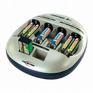 Ansmann Energy 8 Plus Aaa  Aa  C  D And 9v Battery Charger