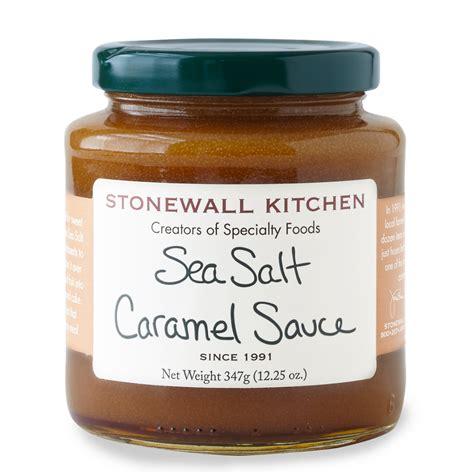 sea salt caramel sauce dessert sauces candy