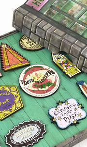 Harry Potter Honeydukes Pin Badge Set - Numskull