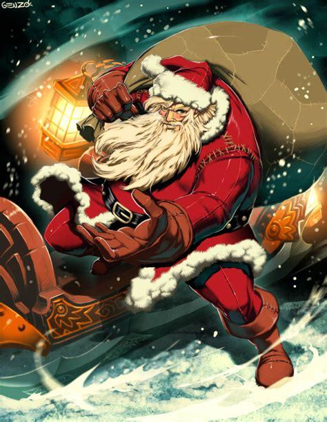 Santa Claus By Genzoman On Deviantart