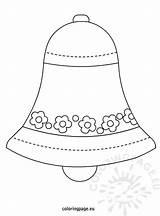 Coloring Bell Easter Coloringpage Eu Reddit Egg Printables sketch template