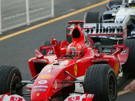 Pneumatic distribution, 40 valves fuel feed: Formula 1 : Michael Schumacher-Ferrari F2004-Japan-2004 1920×1080 …   Ditpub's blog