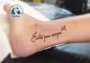 Phrase Tatouage Sur La Force : tatouage pied graphicaderme ~ Melissatoandfro.com Idées de Décoration