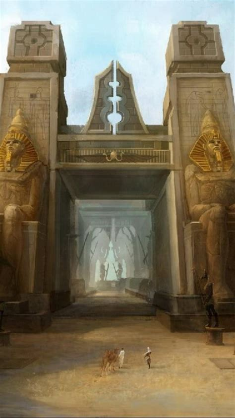 egypt fantasy art wallpaper