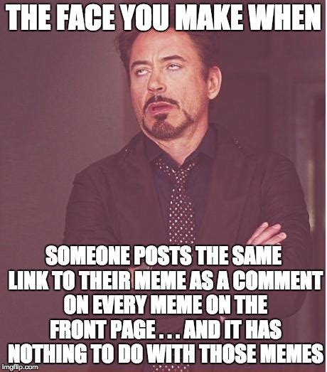 Every Meme Face - face you make robert downey jr meme imgflip