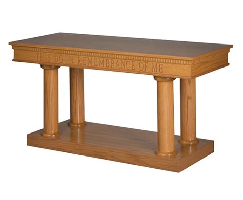 Trinity 8300 Series Open Communion Table