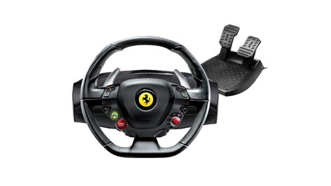 ferrari  steering wheel replicated  xbox
