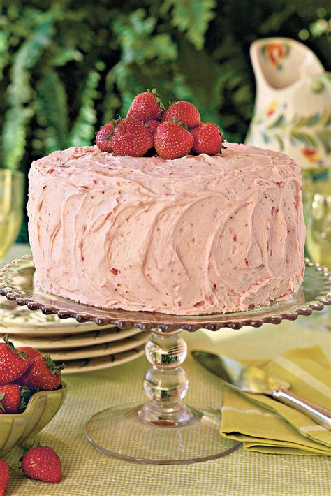 strawberry cake recipes southern living