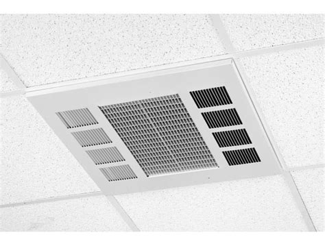 recessed cabinet unit heater ffch series commercial downflow ceiling heater marley