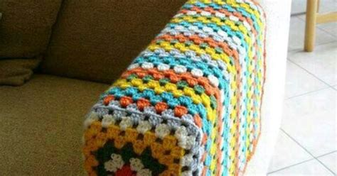 Crochet Chair Arm Cover. Just What My Mum Needs For Her