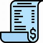 Receipt Icon Icons Tax Bill Epayments Svg