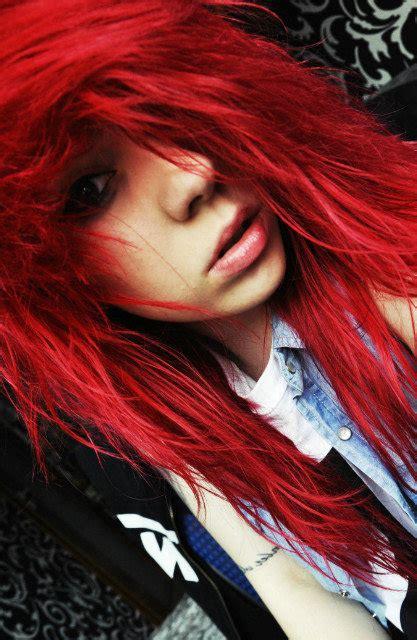 fire red hair  tumblr
