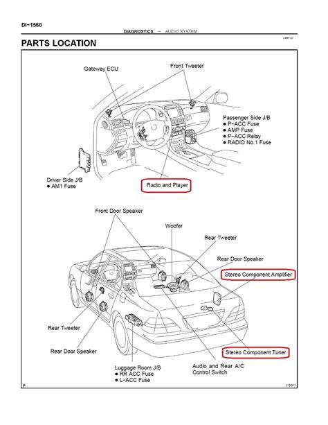 Radio Wiring Diagram Please Clublexus Lexus