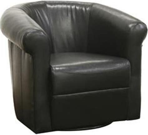 julian faux leather club chair wholesale interiors a 282 black julian faux leather club chair with 360 degree swivel black