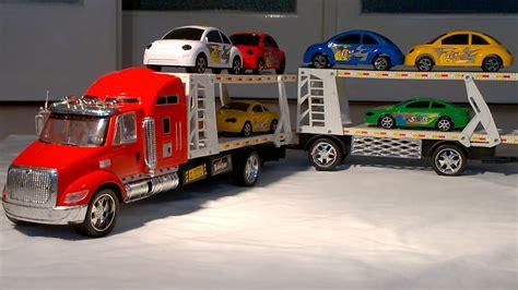 Large Car by Big Car Carrier For Boys Sehr Gro 223 En Autotransporter